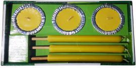 Citronella Gyertyaszett 6 db-os (szúnyogűző)