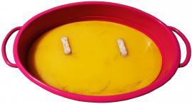 Citronella Gyertya Ovális tálban (szúnyogűző)