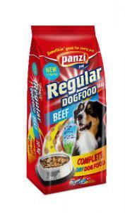 Panzi Regular Beef Adult (marha) száraztáp - Felnőtt kutyák részére (10kg)