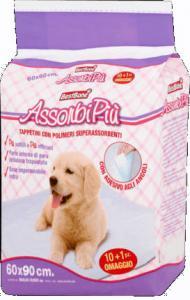 AssorbiPiu Helyhez szoktató - kutyapelenka 60x90cm (11db)