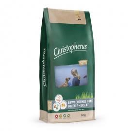Christopherus Dog Adult Grainfree Pisztráng és rovar Small&medium; 12kg