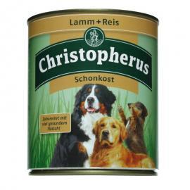 Christopherus Dog konzerv Adult Sensitive Bárány és rizs 800g